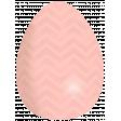 Coral Easter Egg