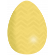 Yellow Easter Egg