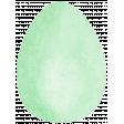 Green Easter Egg 2
