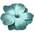 Spring Sparkle Lt Aqua Flower