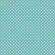 White Polka Dots on Dark Aqua