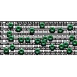 Scattered Green Eyelets