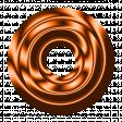Orange Metal Eyelet