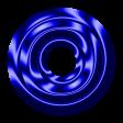 Royal Blue Metal Eyelet