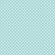 White Polka Dots on Light Aqua