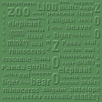 Zoo Paper Green 1