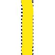 Yellow Paint Streak