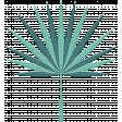 Winter Tropics Palm Leaf 3
