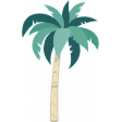 Winter Tropics Palm Tree