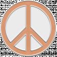 Bohemian Rhapsody Peace Enamel
