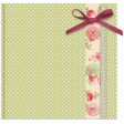 Dotted Mat with Bow