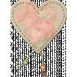 Rebel Rose Heart Mat