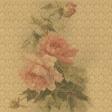 Rebel Rose Gold Damask Paper
