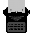 Typewriter Shape Template