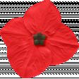 Our House Nov2014 Blog Train - Little Red Flower