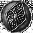 Spookalicious - Element Template - Vintage Button 02