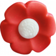 Our House Nov2014 Blog Train - Red Flower Button