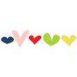 Our House Collab Word Art - Tiny Heart Stickers - Multi