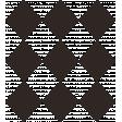 Spookalicious - Black Argyle Stamp