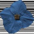 Our House - Dark Blue Flower