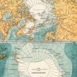 Vintage Maps Kit - Map 04 - Arctic