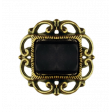 Spookalicious - Black Ornate Jewel