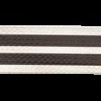Spookalicious - Black/White Striped Ribbon