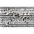 Spookalicious - Black/White Striped String Bow
