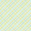 Dream Big Collab - Blue & Yellow Paper - Criss Cross Diagonal Lines