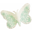 Dream Big Collab - Butterfly - Green and White
