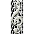 Dream Big Collab - Silver Music Note