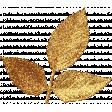 Spookalicious - Gold Glitter Leafy Branch