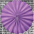 Spookalicious - Purple Accordian Flower