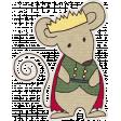 Nutcracker December BT Mini Kit - Mouse King Sticker