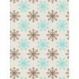 Sweater Weather - Journal Card - Snowflakes