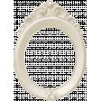 Spookalicious - White Ornate Frame