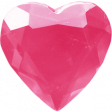 Spookalicious - Pink Heart Gem