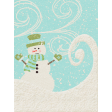 Sweater Weather - Journal Card - Snowman