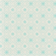 Sweater Weather Papers - Blue Ornate Snow Flakes