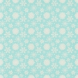 Sweater Weather Papers - Blue With White Snowflakes