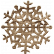 Sweater Weather - Wood Snowflake 03