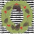 Sweater Weather - Wreath Rub-on