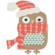 Sweater Weather - Owl With Scarf Sticker
