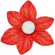 Sweater Weather - Small Red Flower