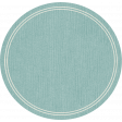 Birthday Wishes - Blue Circle Tag