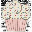 Birthday Wishes - Pink Cupcake