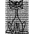 Kitty - Illustrations 02 - Goofy Sitting Kitty