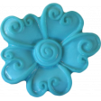 Button Mix Set 01 - Button # 01 - Teal Flower
