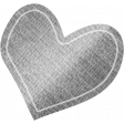 Furry Friends - Kitty - Paper Heart 02 Template