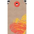 Furry Friends - Kitty - Cardboard Tag